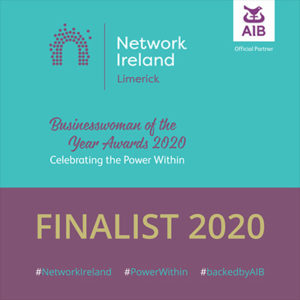 Network Ireland Limerick - Businesswoman of the Year Award 2020 - Finalist